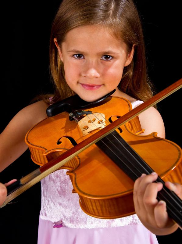 Learning how to play a musical instrument can help children develop the skills needed to focus their attention.