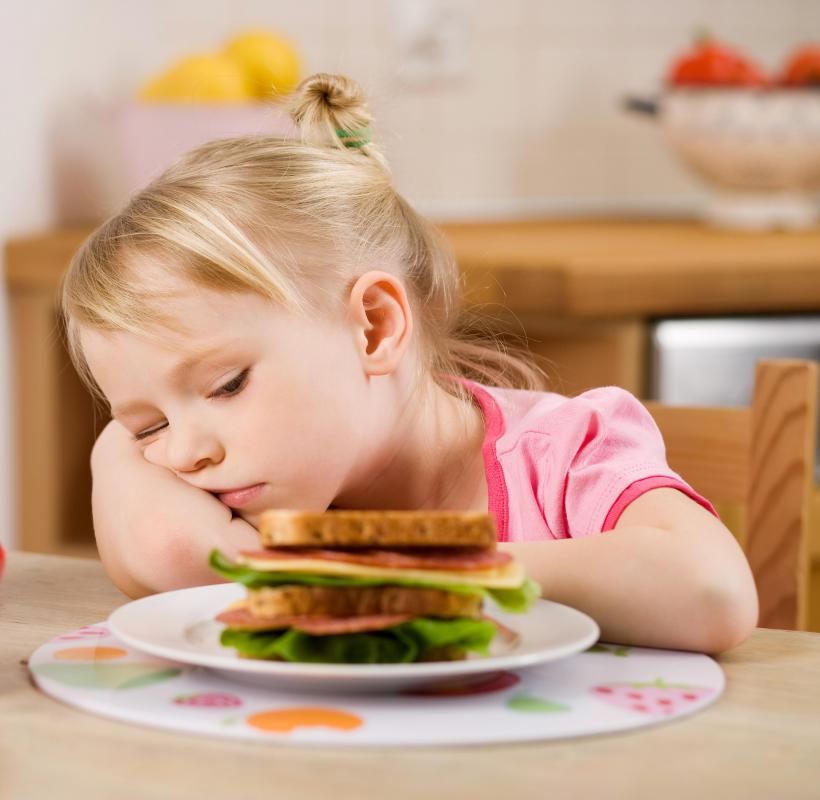 Children with ADHD may be picky eaters.