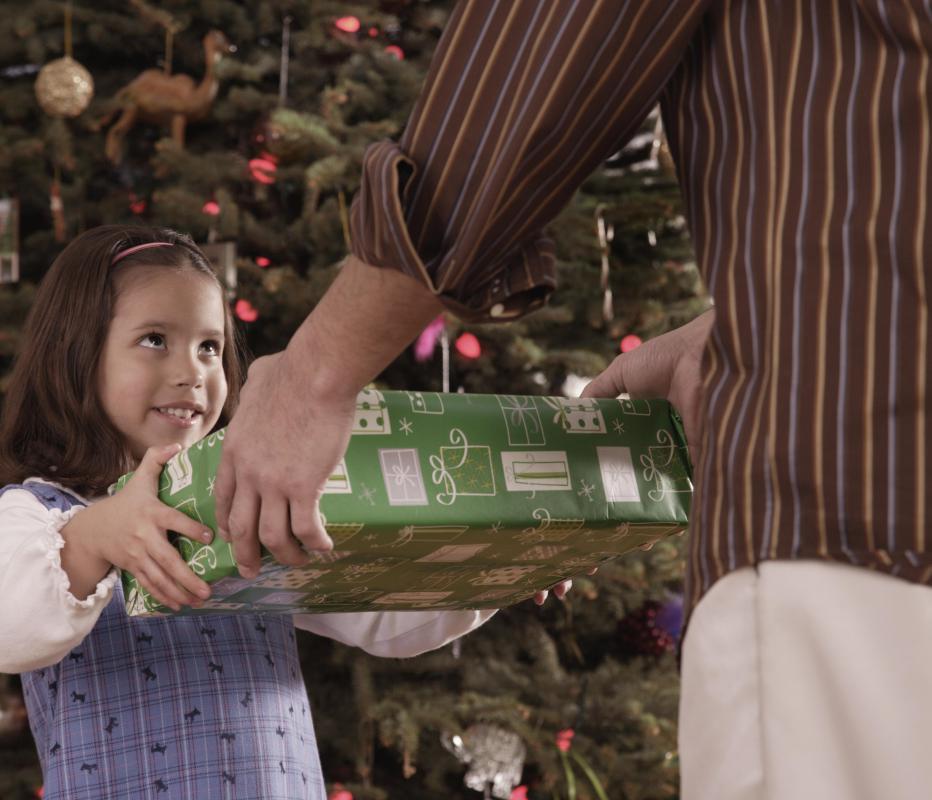 During Christmas, there tends to be more emphasis on gifts and less on Christ's birth in some families.