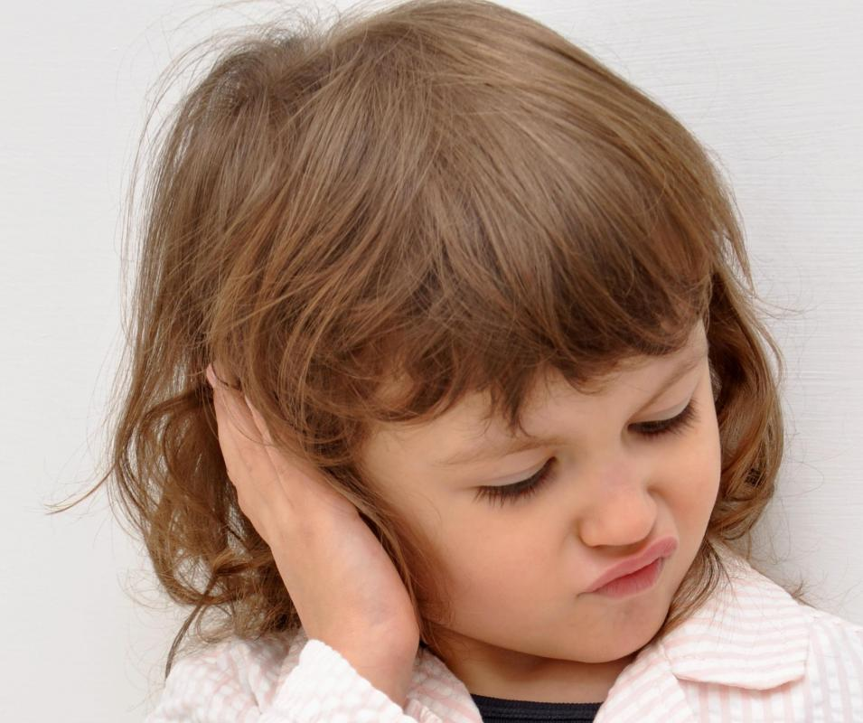 Symptoms of mastoiditis may include ear pain.