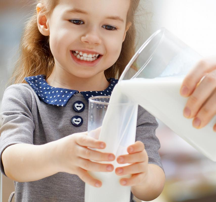 Milk may be taken with aspirin to prevent upset stomach.
