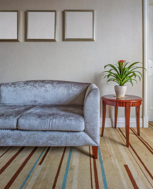 Different types of floor coverings