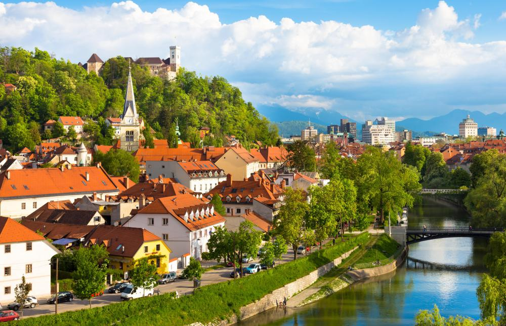Slovenia, which is a country of about 2 million people that was part of Yugoslavia before declaring independence in 1991, is governed from the city of Ljubljana.