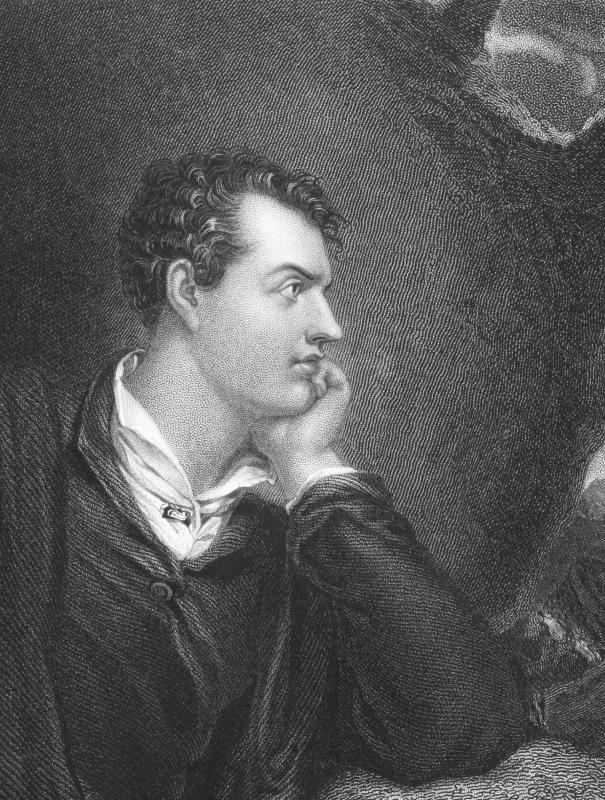 Lord Byron's angst is reflected in his poetry.