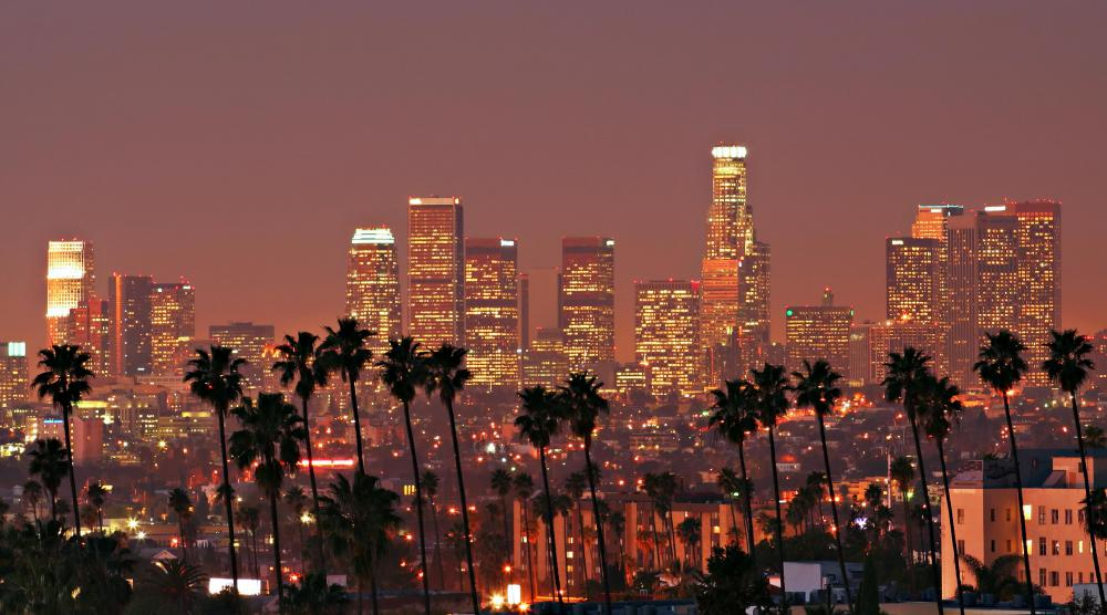 Speed cabling began in Los Angeles.
