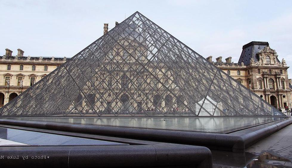 Six million people visit the Louvre museum every year.