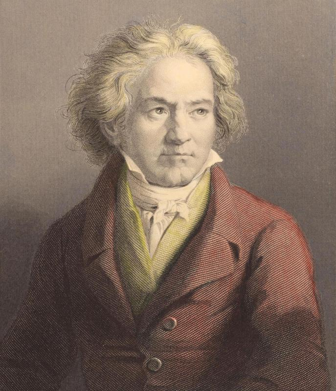 Ludwig van Beethoven was a classical music composer.