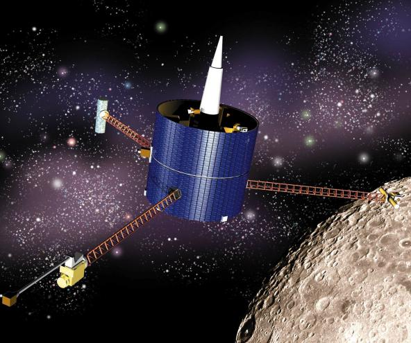 NASA's Lunar Prospector mission carried a sample of Eugene Shoemaker's ashes to the Moon.