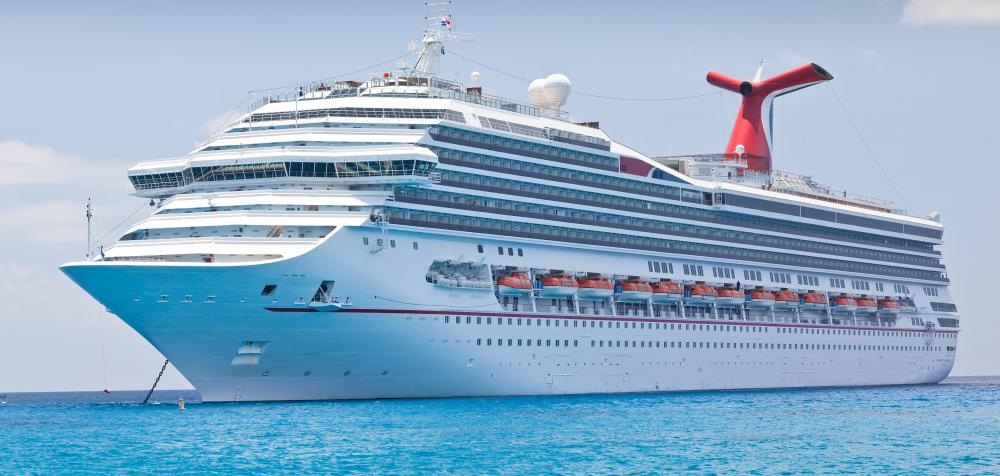 The most common passenger ships nowadays are cruise ships.