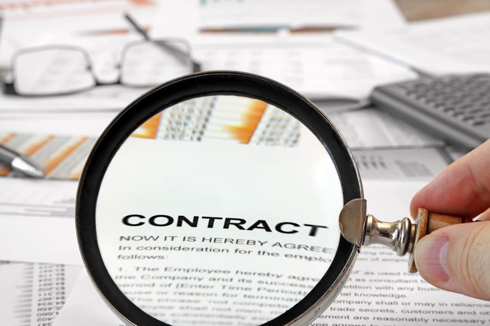 Contracts should be closely examined for an act of nature clause.