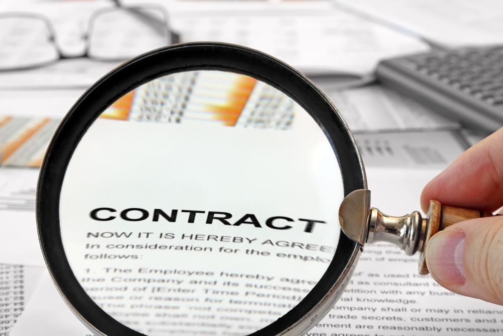 Many contracts should be reviewed by a lawyer prior to signing to ensure all terms of the contract have been clearly outlined.