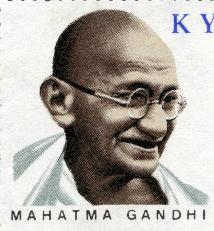 Mahatma Gandhi's non-violent philosophies were adapted during the Summer of Love.