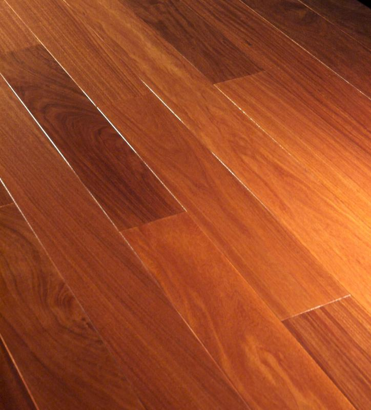 Like natural wood flooring, laminate wood flooring is sold in planks. - What Is Laminate Wood Flooring? (with Pictures)