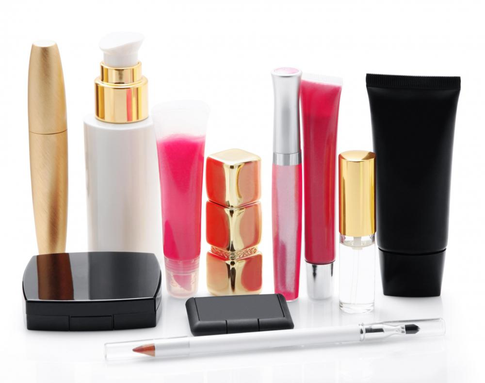 Various types of makeup.