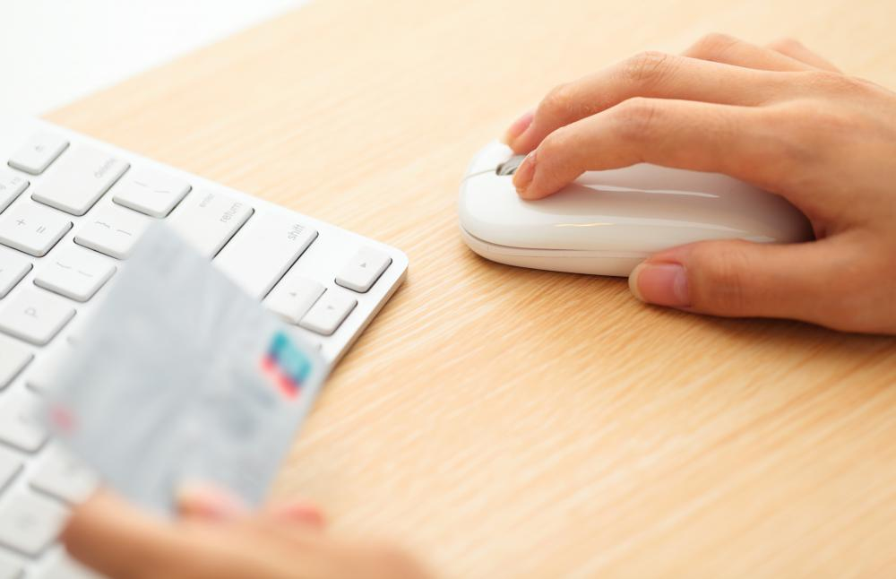 Online credit card processors determine which cards will be accepted for payment.