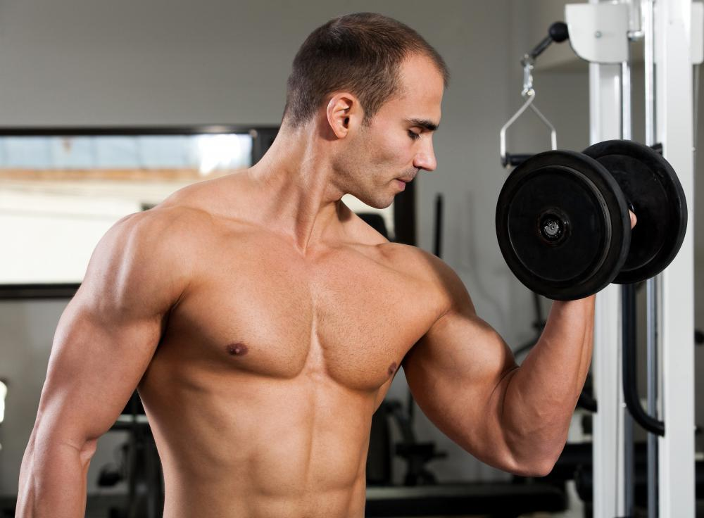 The process of lifting and curling weights causes bodybuilders to develop forearm splints.
