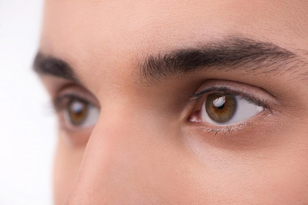 If a person has one allele for brown eye color and one for blue, the person's eyes will be brown.