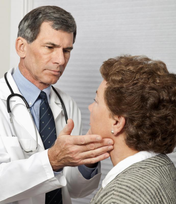 Swollen lymph nodes in the neck may be a sign of a minor illness like the common cold.