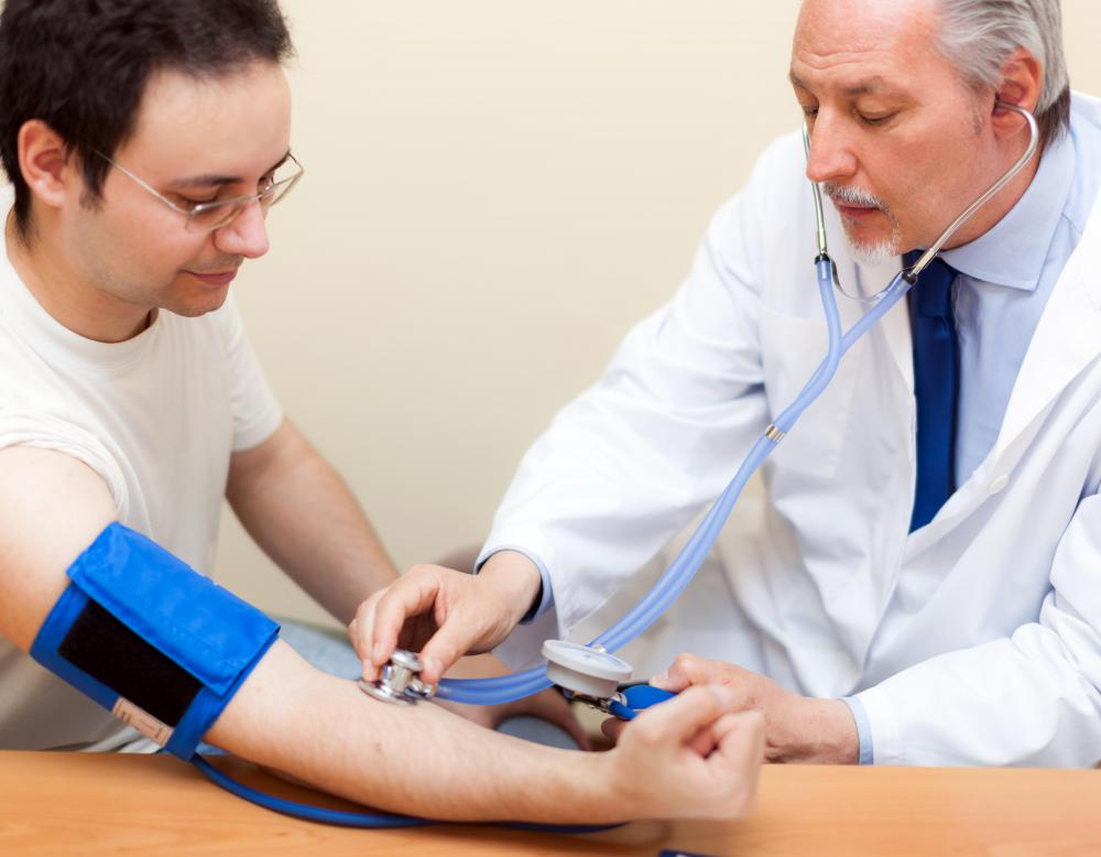 Primary care physicians help manage the treatment of chronic conditions including high blood pressure.