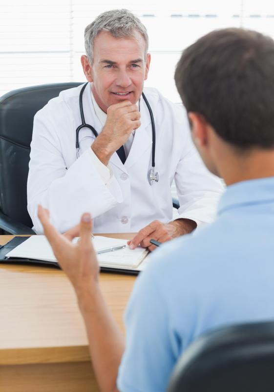 There are some benefits to face-to-face meetings with a doctor.