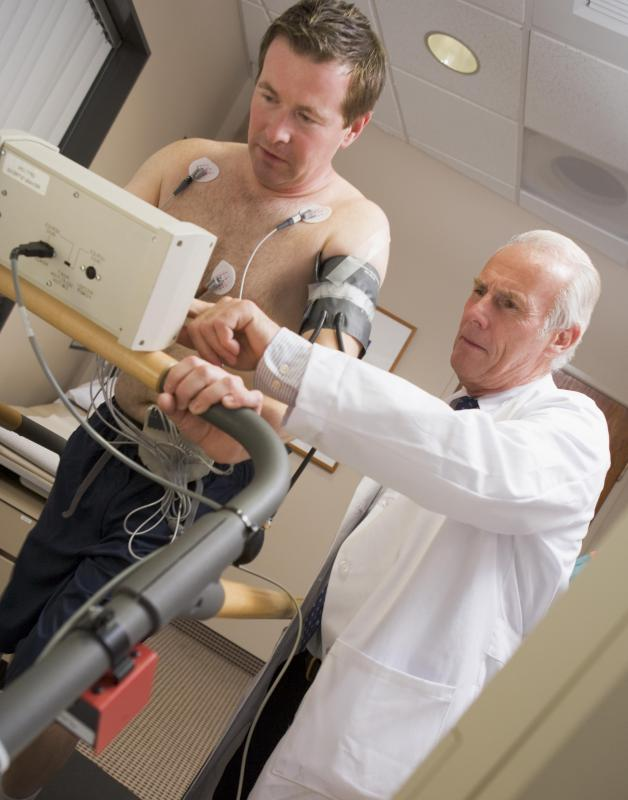 Doctors may discover a person's anaerobic threshold through blood testing during physical exertion tests.
