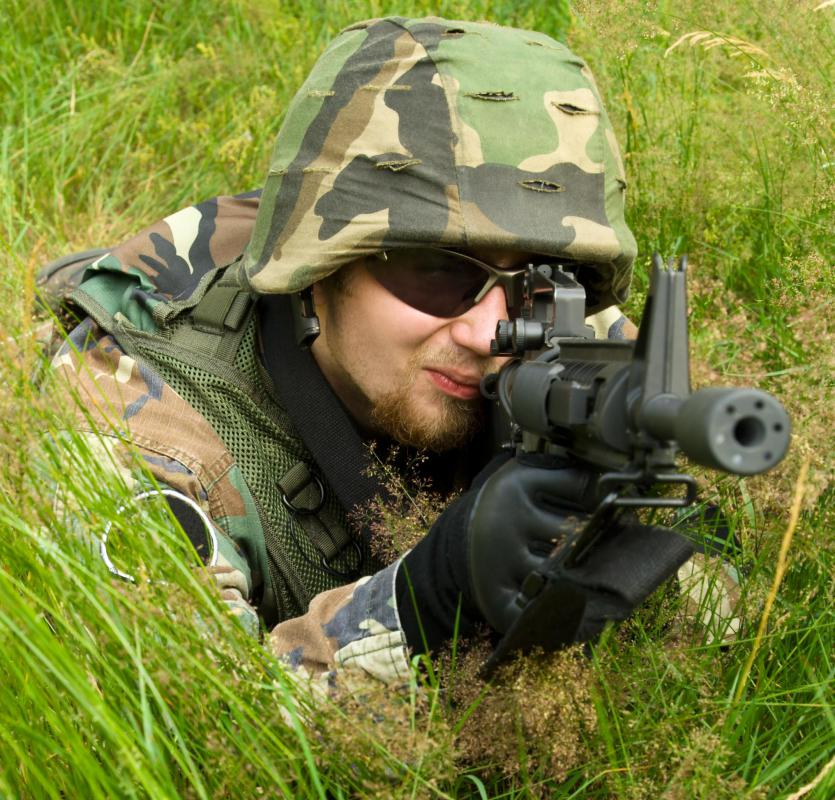 Sniper rifles are an important part of Navy SEALS weaponry.