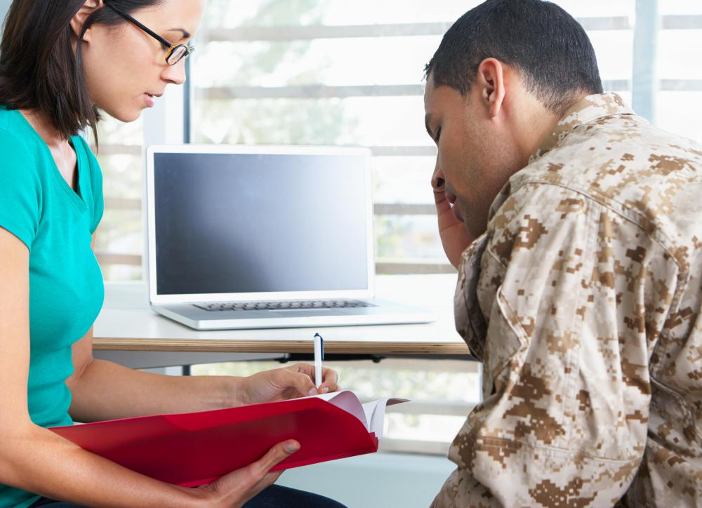 Army personnel may serve in medical support roles.