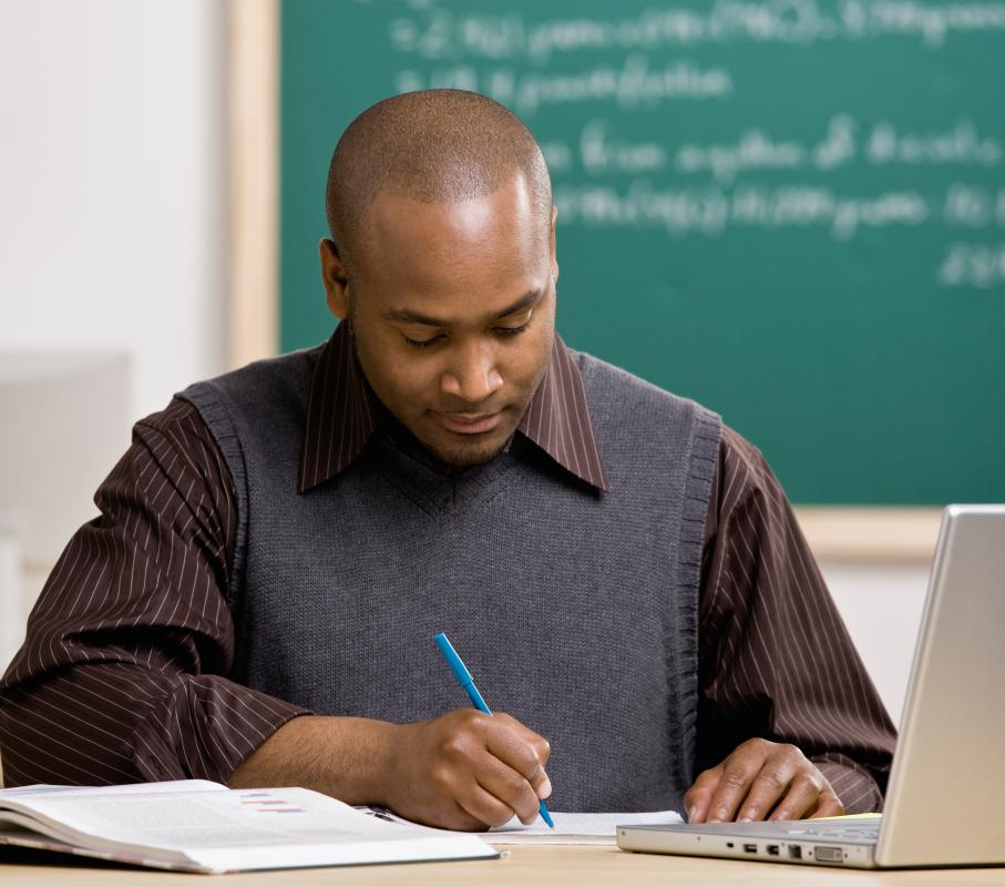 Teachers are regularly evaluated based on how their students perform on standardized tests.