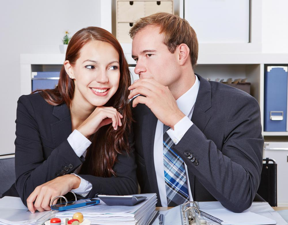 A manager who avoids gossiping with subordinates helps to create a professional environment.