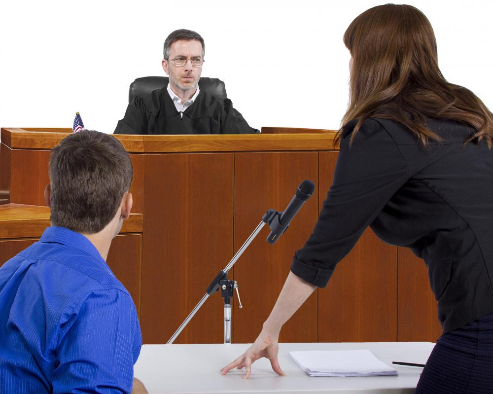 In cases where a proffer is made during a trial, a judge may determine whether the evidence is legally admissable.
