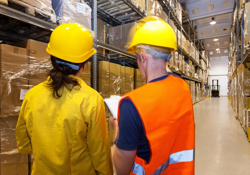 Logistics managers are responsible for managing the warehouse staff.