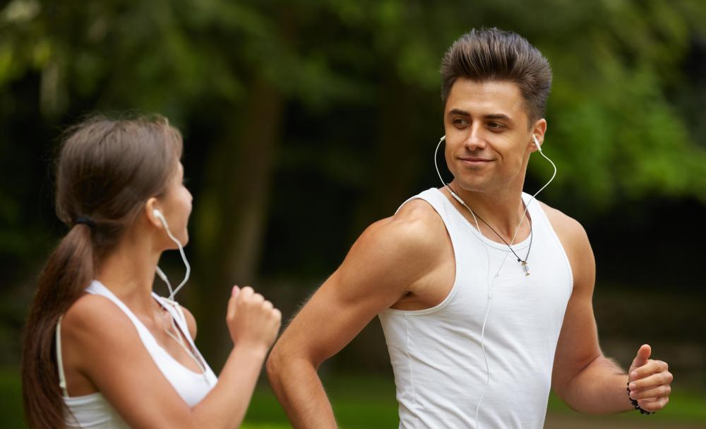 Jogging might be a way for couples to connect with each other.