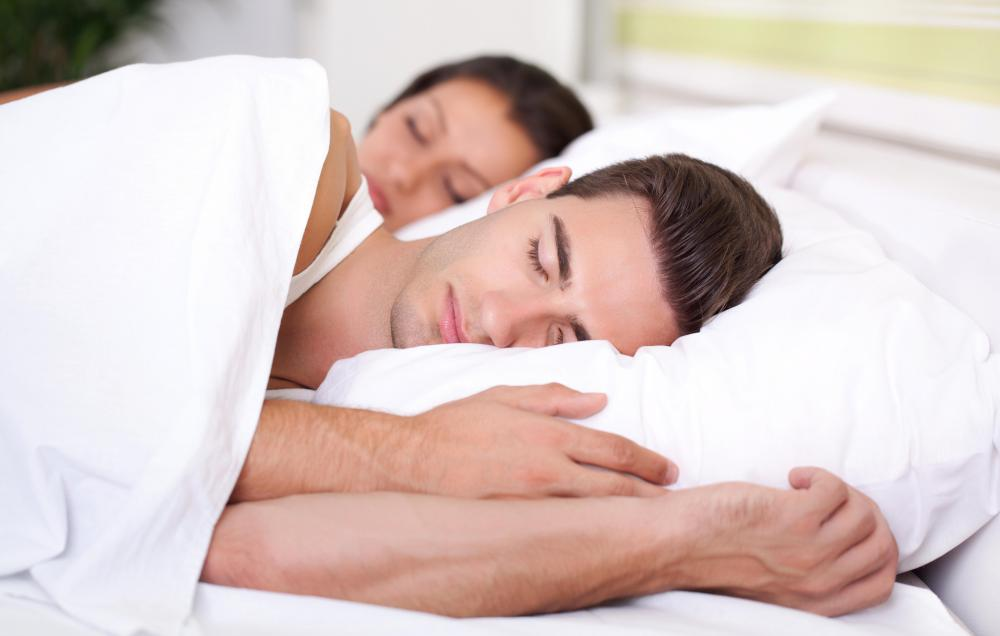 Having a sleeping routine can help one stay asleep.