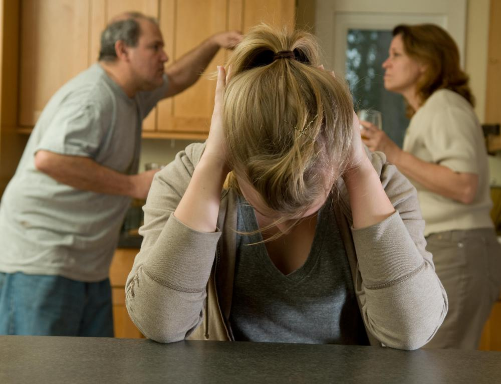 Parental divorce can cause some teenage girls to become anorexic.