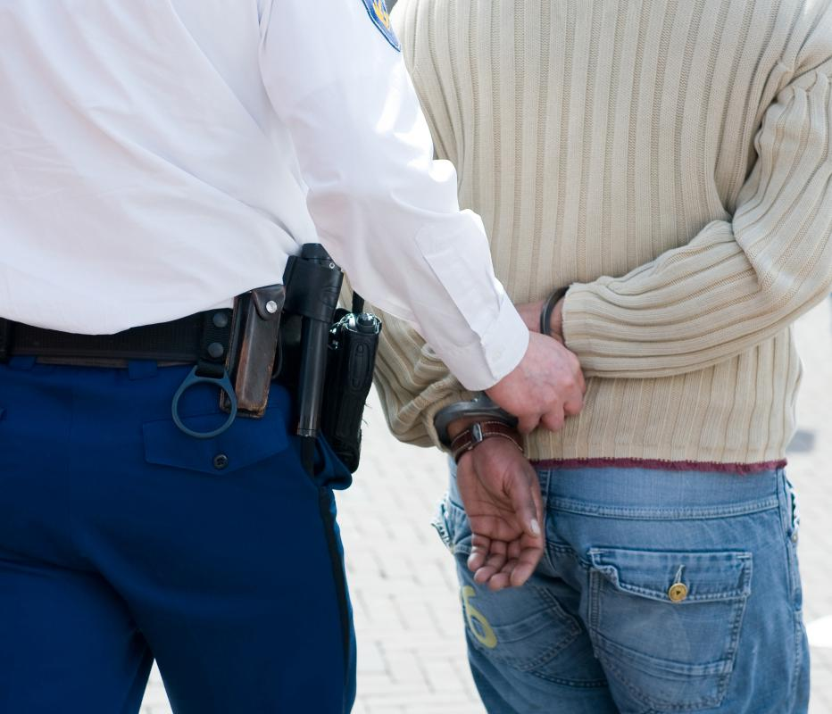 Security guards are often authorized to make arrests.