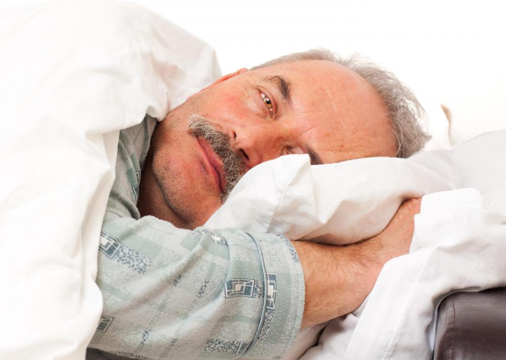 Increasing exercise and decreasing alcohol consumption may help with sleeping issues.