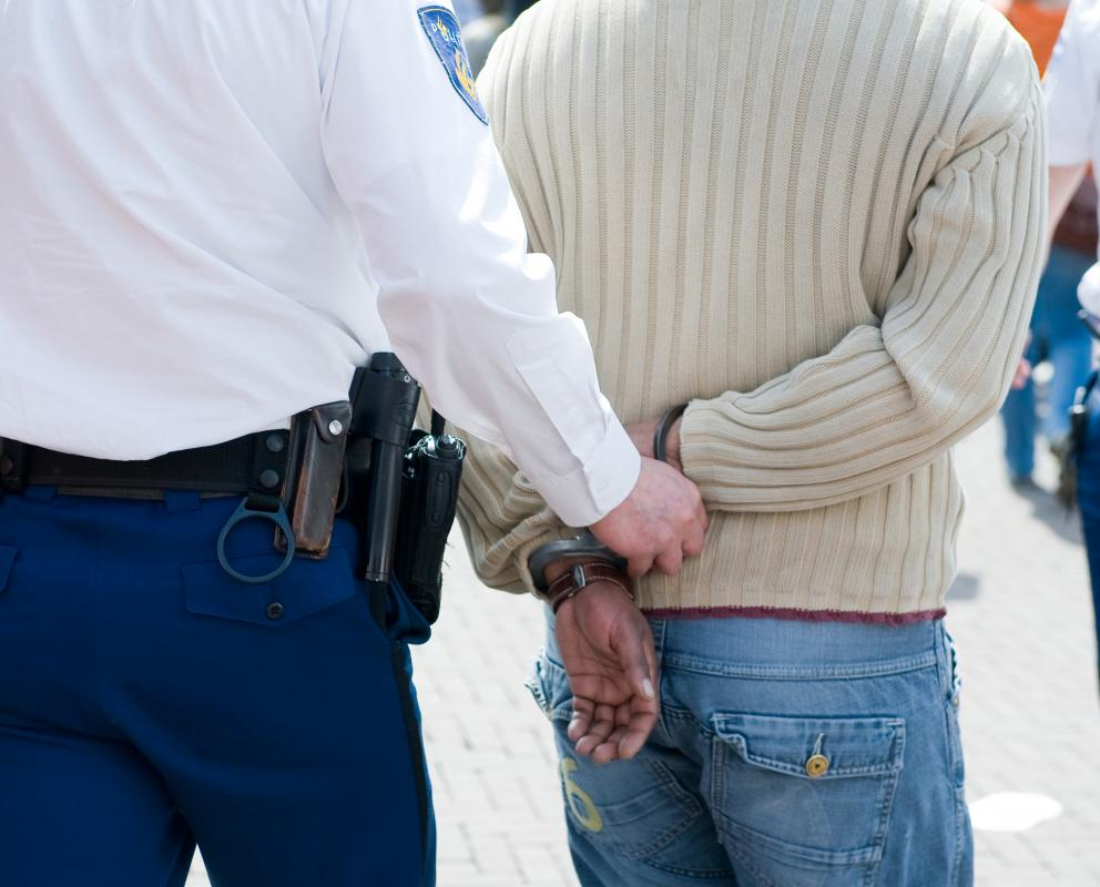 When a person is arrested, he must be notified of his arrest rights.