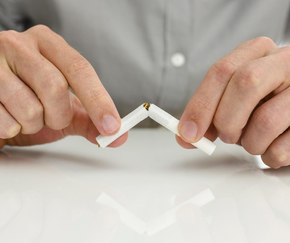 Quitting smoking is important for those who have undergone bypass surgery.