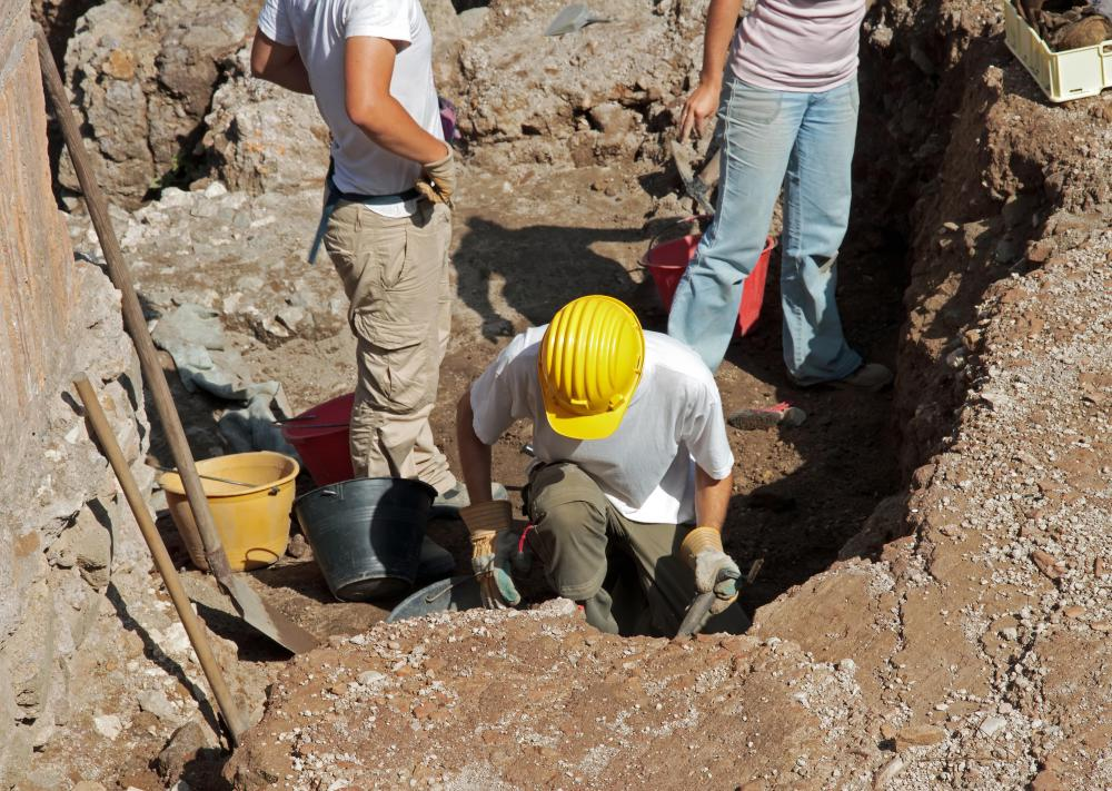 Excavation contractors may perform grading, trenching, digging and dredging.