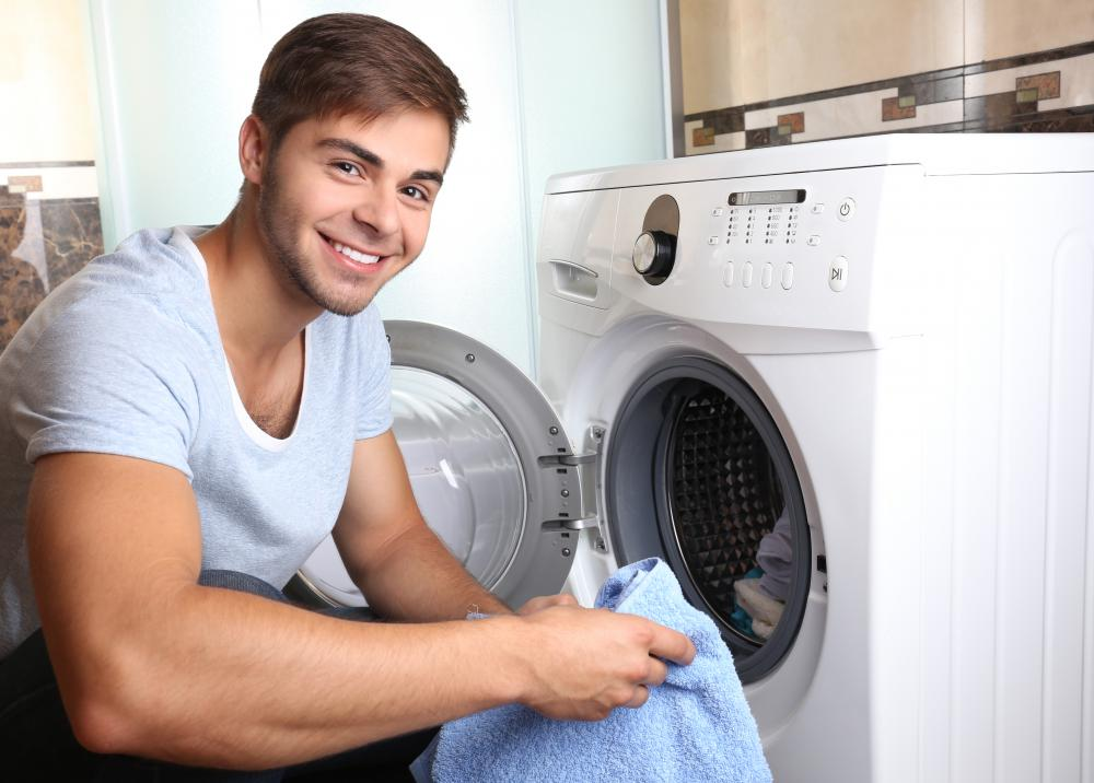 Gated communities may have shared facilities, such as a laundry area.