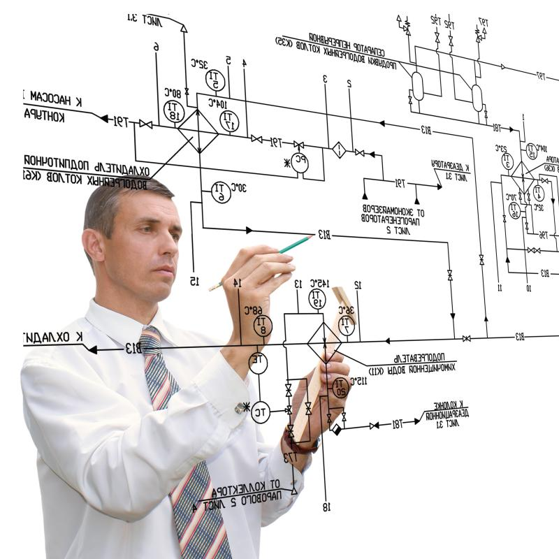 A reference design, or schematic, can be complex for some systems or processes.