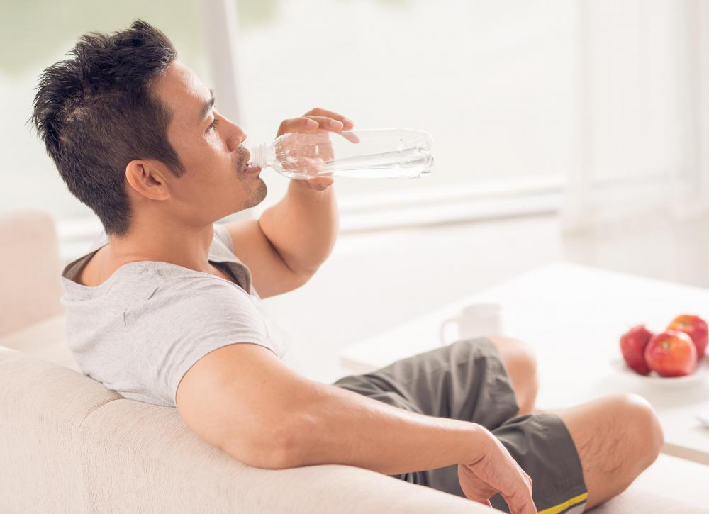 Individuals with enterocolitis have to drink enough water to prevent dehydration.