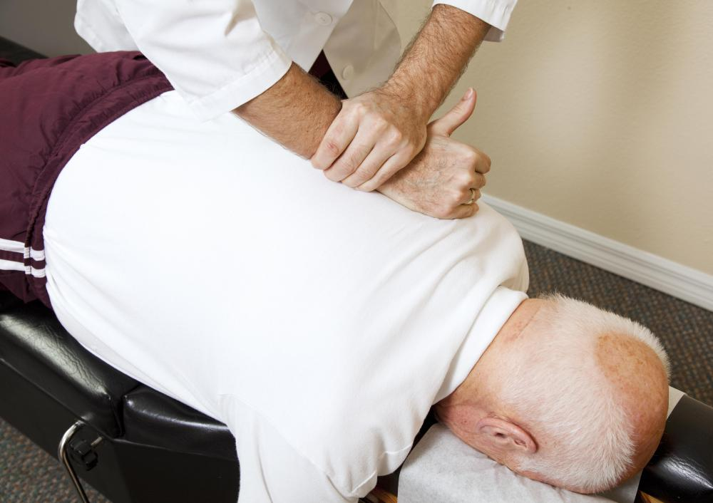 Some naturopaths use spinal manipulation for pain management.