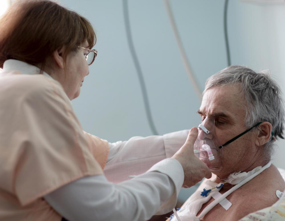 Patients who are suffering from severe breathing disorders can be given breathing treatments.