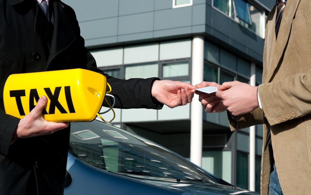 A taxi driver may be required to obtain a chauffeur's license.