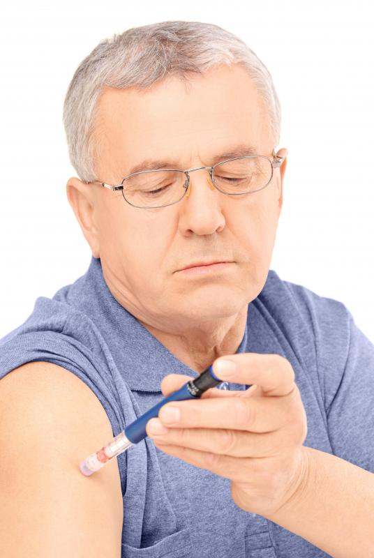 Self-administered injections are often subcutaneous.