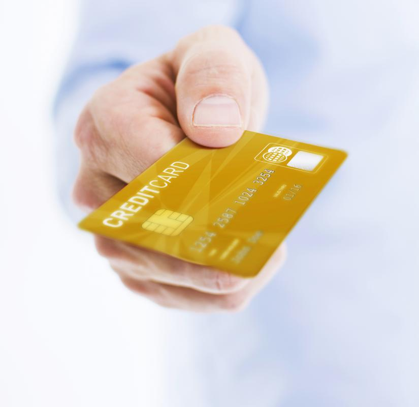 Personal spending may be done with credit cards.