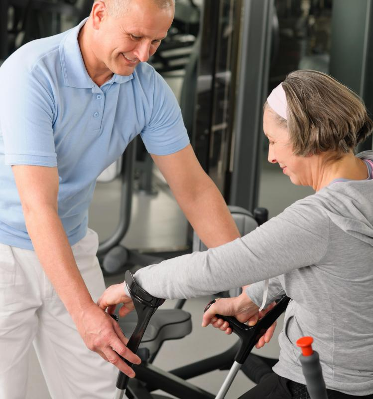 Physical therapy can help some people rebuild strength and bone density lost to osteoporosis.