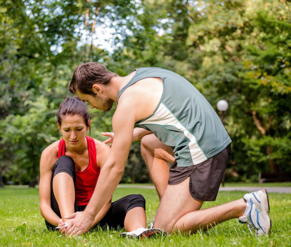 Repetitive movement like running can cause tendinitis.