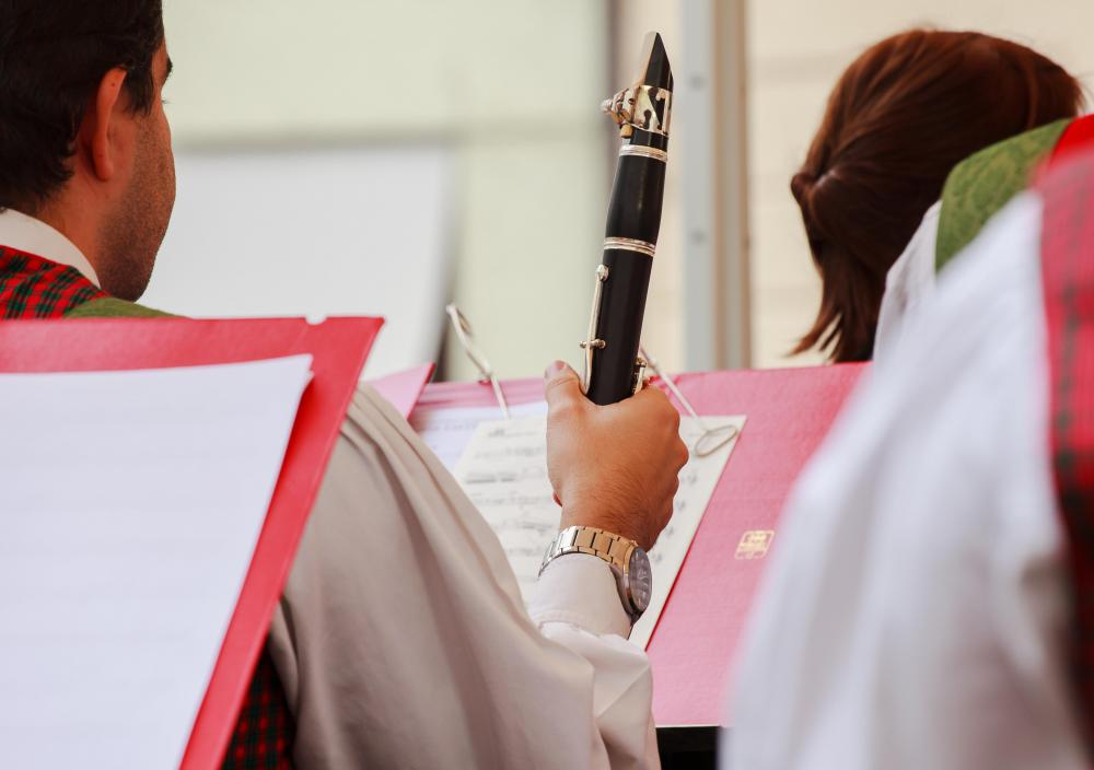 Clarinet players are part of a standard woodwind quintet.